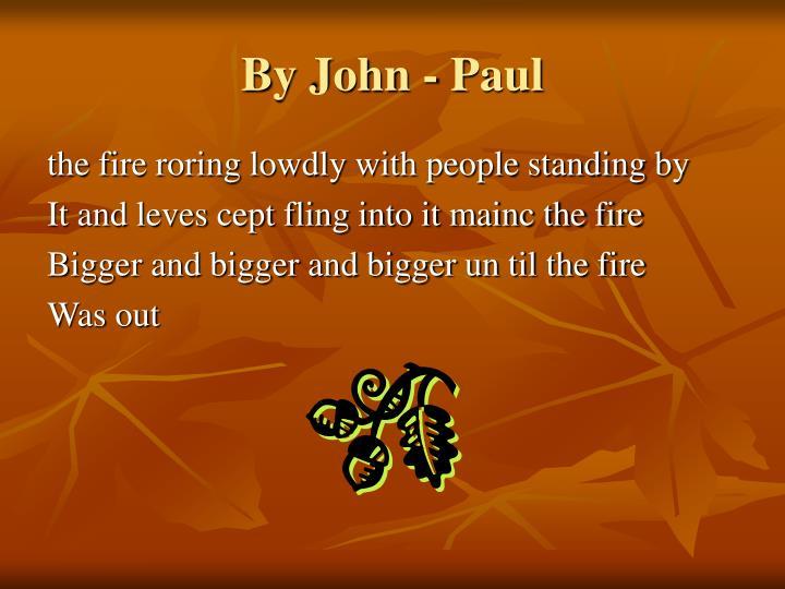By John - Paul