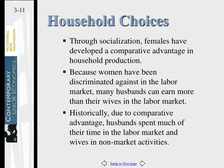 Household Choices