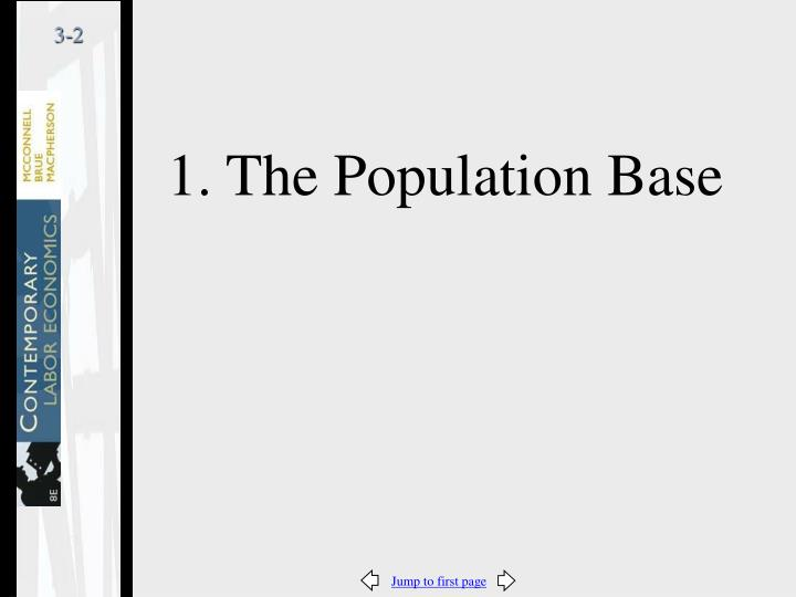 1. The Population Base