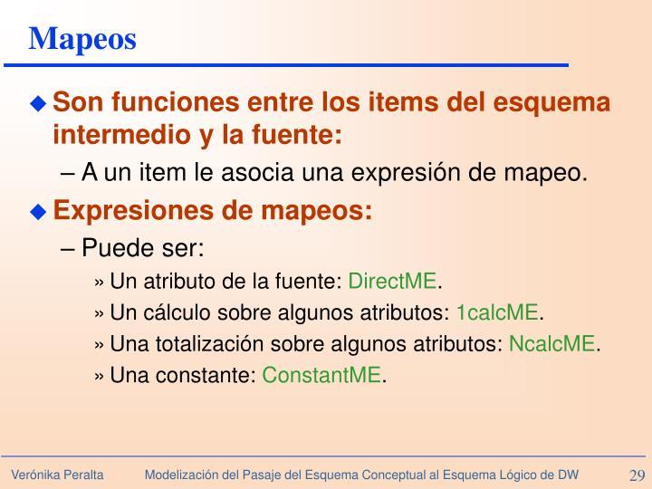Mapeos