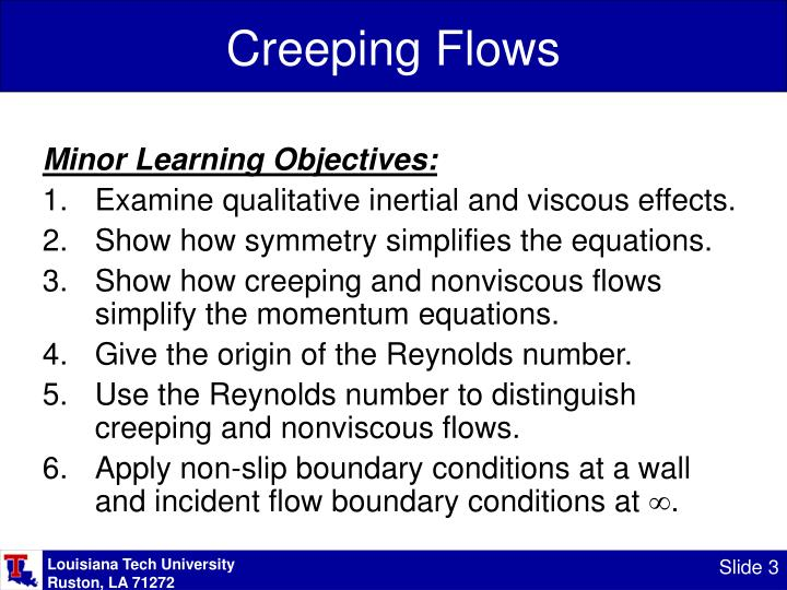 Creeping flows2