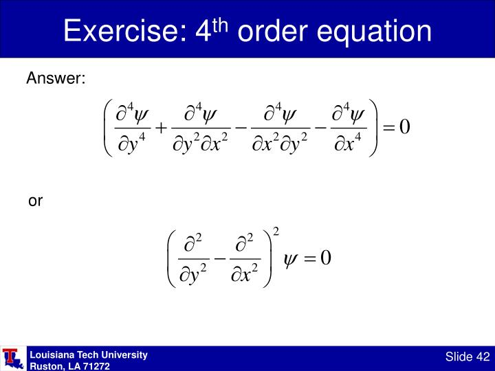 Exercise: 4
