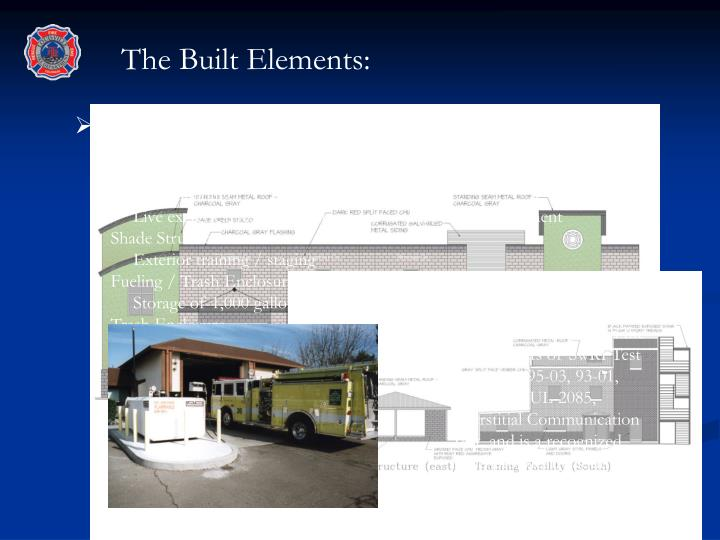The Built Elements: