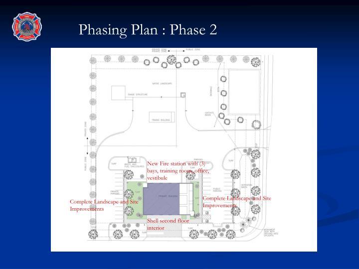 Phasing Plan : Phase 2