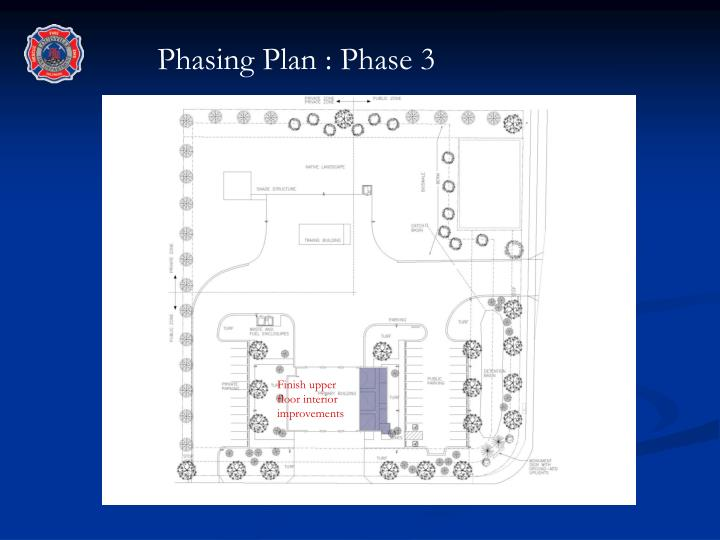 Phasing Plan : Phase 3