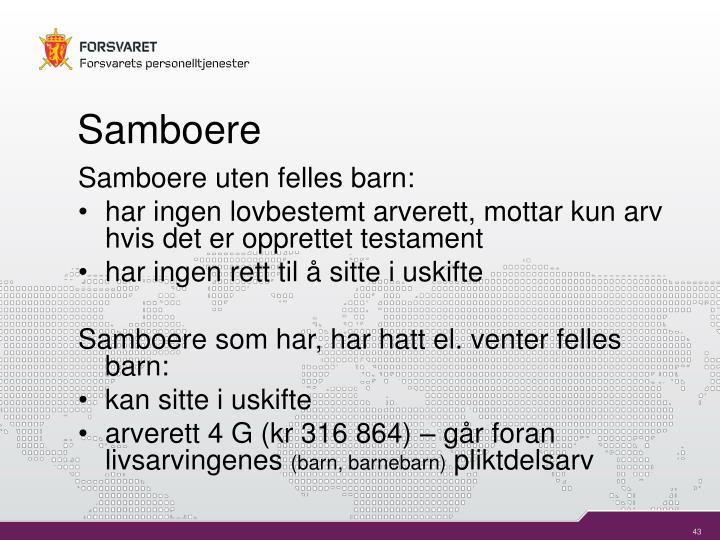 Samboere