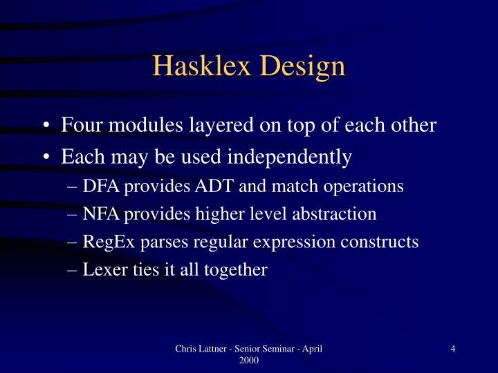Hasklex Design