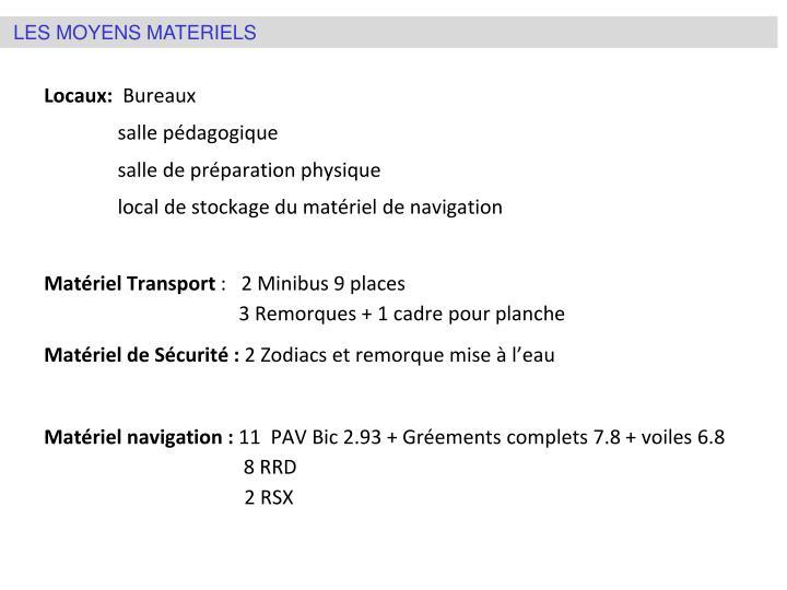 Locaux: