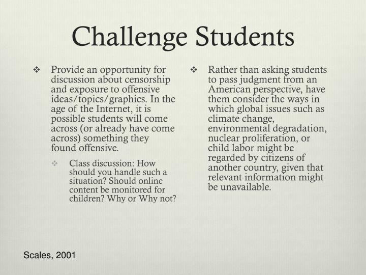 Challenge Students