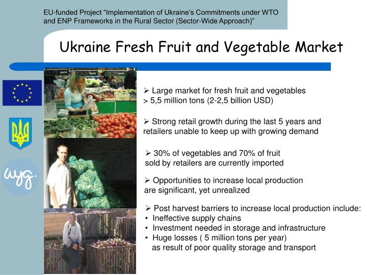 Ukraine Fresh Fruit and Vegetable Market