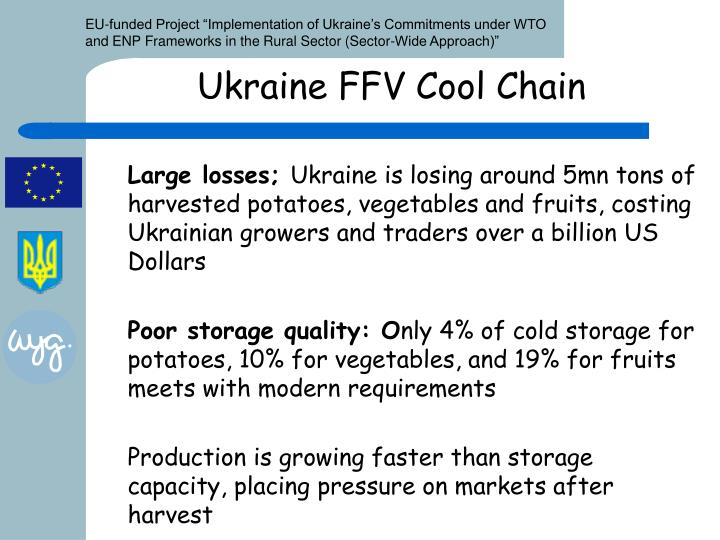 Ukraine FFV Cool Chain