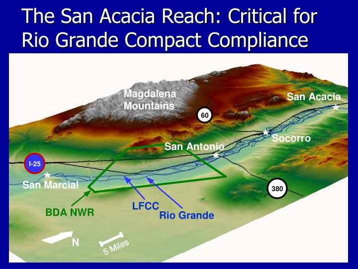The San Acacia Reach: Critical for Rio Grande Compact Compliance