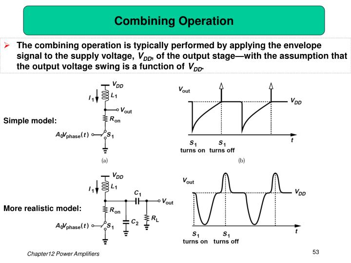Combining Operation