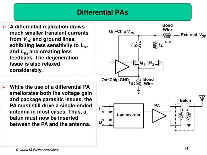 Differential PAs