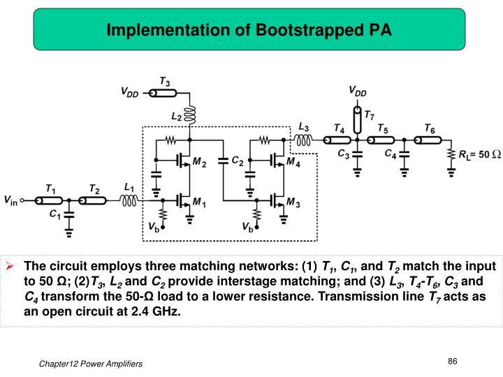 Implementation of Bootstrapped PA