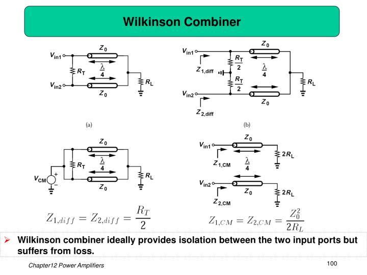 Wilkinson Combiner