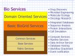 bio services