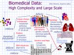 biomedical data high complexity and large scale