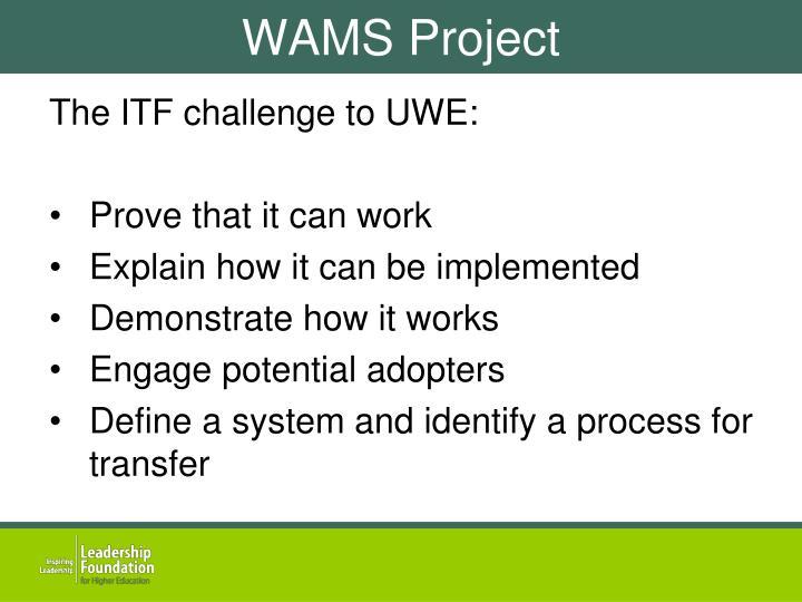 WAMS Project