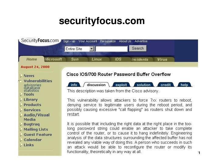 securityfocus.com