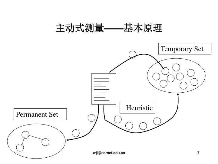 主动式测量——基本原理