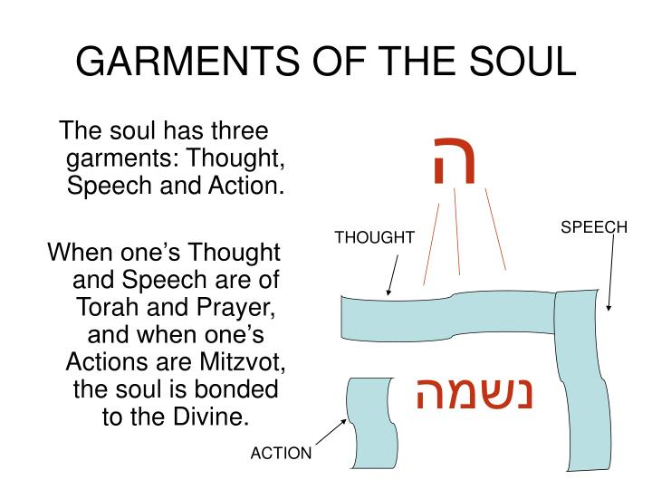 GARMENTS OF THE SOUL
