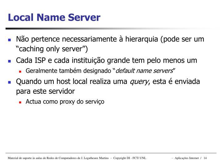 Local Name Server