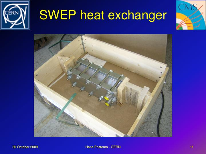 SWEP heat exchanger