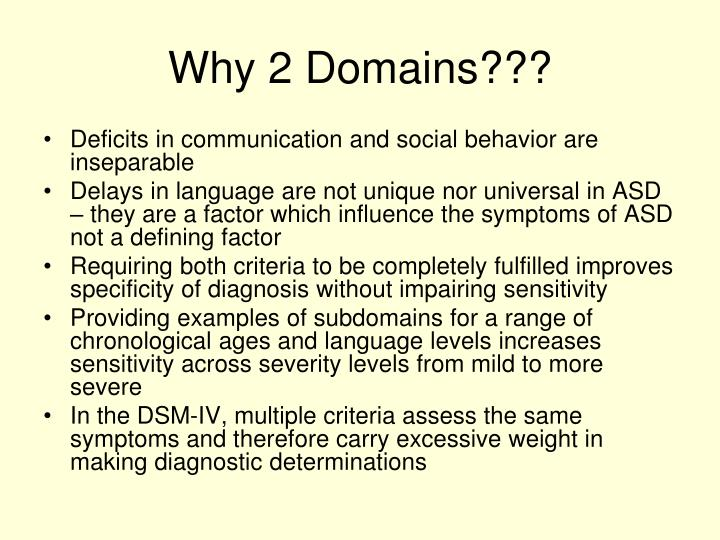 Why 2 Domains???