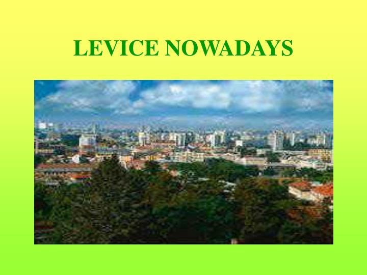 LEVICE NOWADAYS