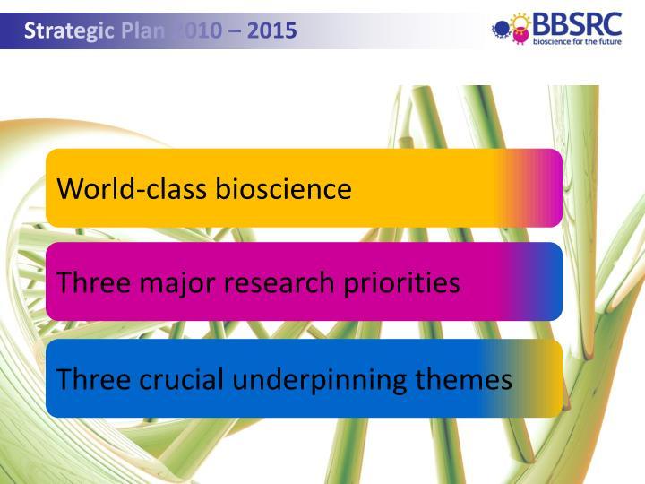 Strategic Plan 2010 – 2015