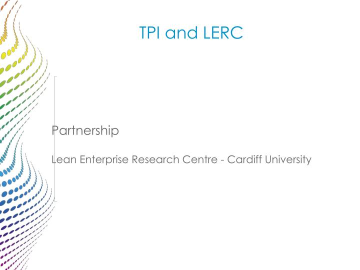 TPI and LERC