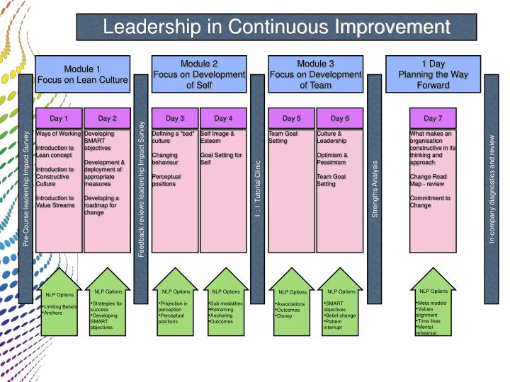 Leadership in Continuous Improvement
