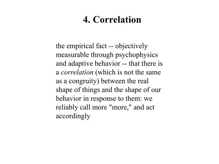 4. Correlation