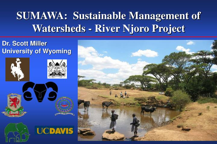 SUMAWA:  Sustainable Management of Watersheds - River Njoro Project
