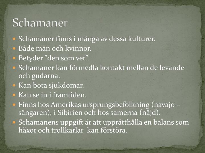 Schamaner