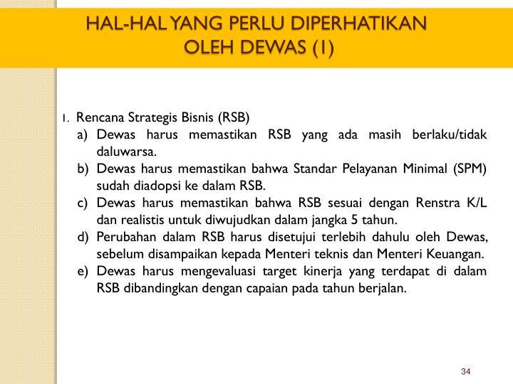 Rencana Strategis Bisnis (RSB)