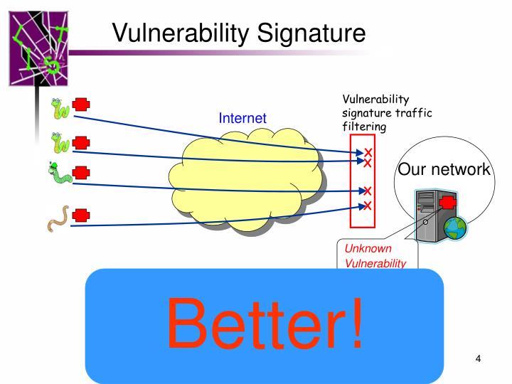 Vulnerability Signature