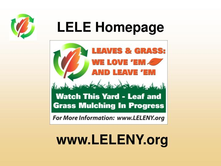 LELE Homepage