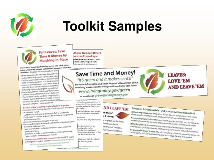 Toolkit Samples