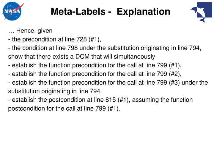 Meta-Labels -  Explanation