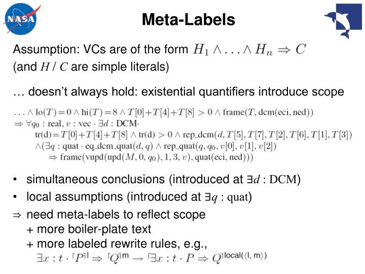 Meta-Labels