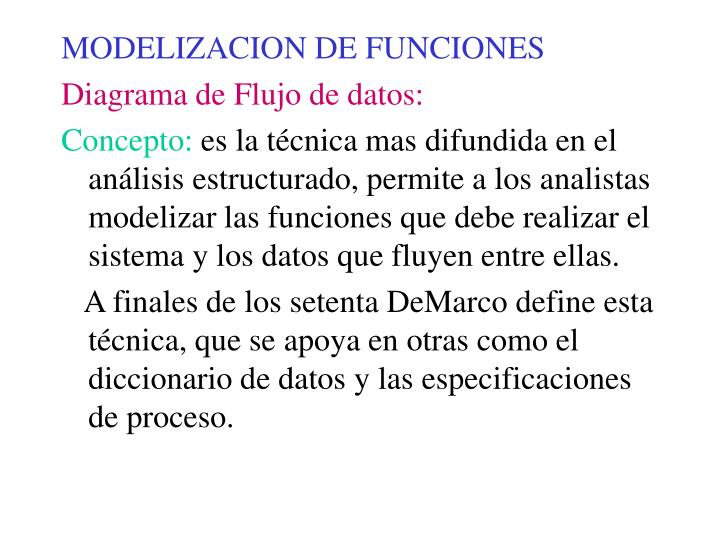 MODELIZACION DE FUNCIONES