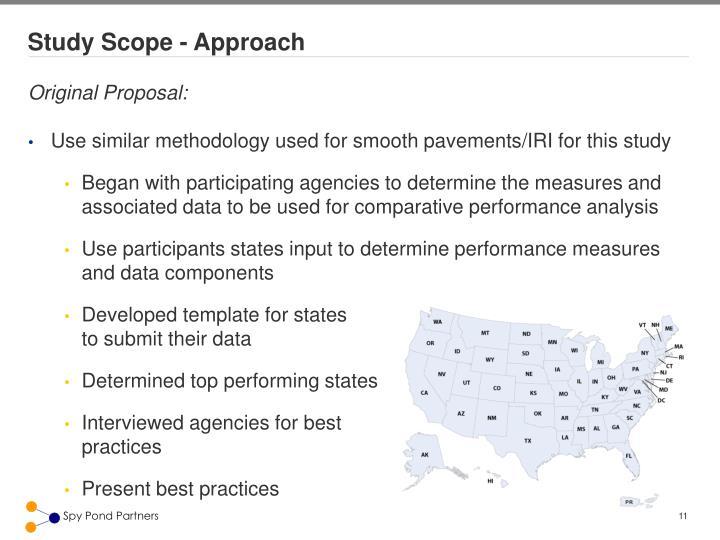 Study Scope - Approach