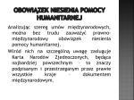 obowi zek niesienia pomocy humanitarnej