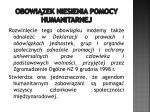 obowi zek niesienia pomocy humanitarnej3