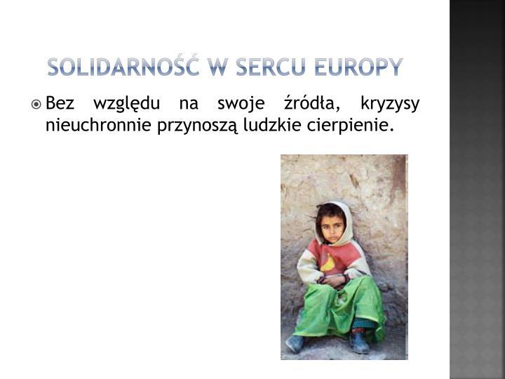 Solidarno w sercu Europy
