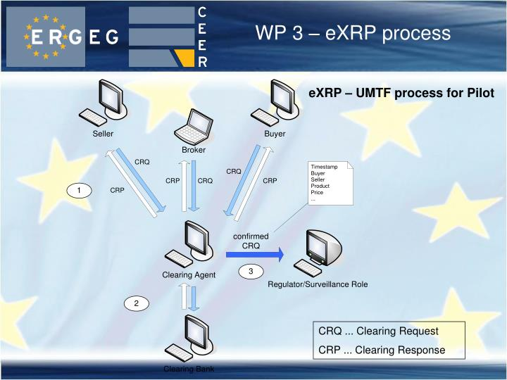 WP 3 – eXRP process