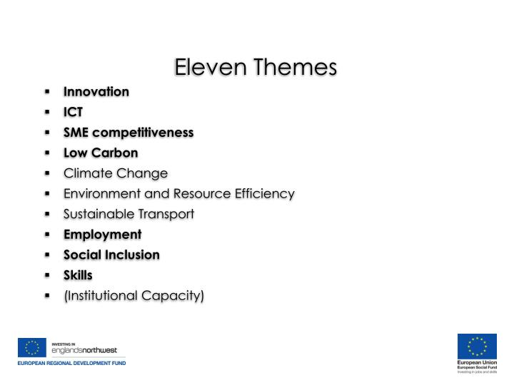 Eleven Themes