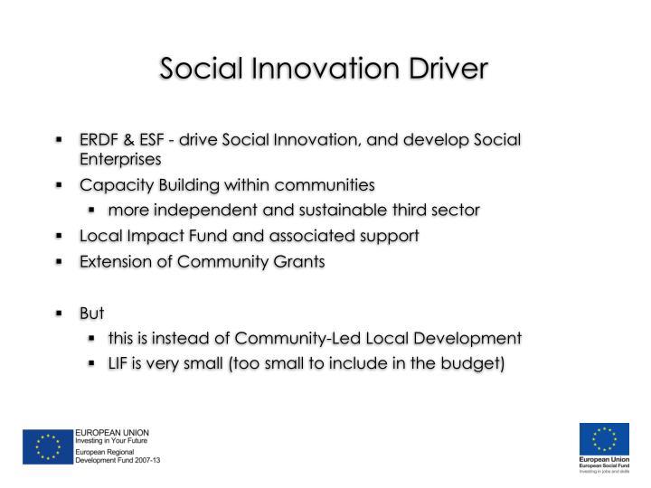 Social Innovation Driver